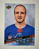 2020-21 UD Series 2 Base Exclusive Young Guns #483 Darren Raddysh RC /100