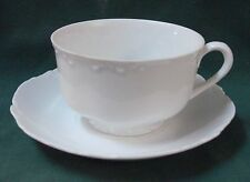 Rosenthal VERSAILLES WHITE Cup & Saucer Set VINTAGE More Items Available