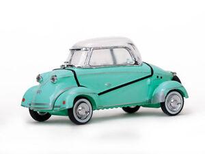 """1958 MESSERSCHMITT """"TIGER"""" TG500 GREEN 1/43 DIECAST MODEL CAR BY VITESSE 29053"""