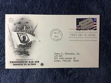 1995 PRISONERS OF WAR FIRST DAY STAMP COVER#fdc155
