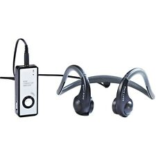 Open Ear Bone Conduction Headphone with Microphone for Sports, Outdoor, Biking