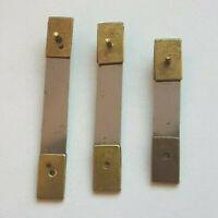 3x Assorted Brass Clock Pendulum Suspension Springs - SU5