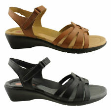 Velcro Leather Casual Sandals & Flip Flops for Women