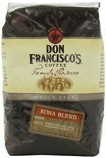 Don Francisco Family Reserve Kona Blend Whole Bean Coffee, 32 Ounce, New, Free S