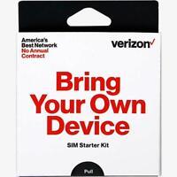 Preloaded Verizon Wireless SIM card $40 talk text 6GB fast activation service