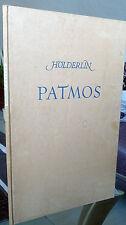F. Hölderlin Patmos Handschrift, Landgraf von Homburg, Griechenland, Hymne