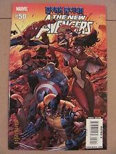 New Avengers #50 Marvel Comics 2005 Series Bendis 9.6 Near Mint+ Dark Reign