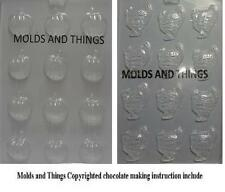Small Turkeys Chocolate candy mold and small Pumpkin Thanksgiving Chocolate Mold