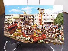 Vintage Imperial 400 Motel Chrome Postcard Pasadena CA