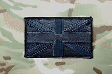 """Blackout Large UK Flag Patch 5"""" x 3"""" SAS SBS SRR SFSG USKSF Police Ghost SWAT"""