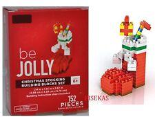Be Jolly Christmas Stocking Mini Building Blocks Set 152 Pieces 2017 NEW