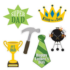 (12) Father's Day Cutouts prtd 2 sides