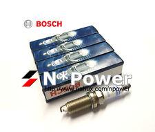 BOSCH SUPER+ SPARK PLUG SET 4 FOR MAZDA Premacy CP 02.00 - 05.03 1.8L DOHC FP