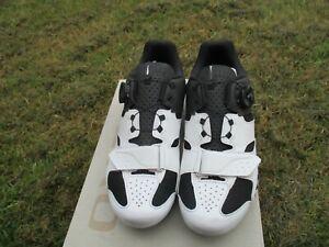 Giro Savix Men's SPD SPD-SL Black white Road cycling shoe EU42 UK 7.5