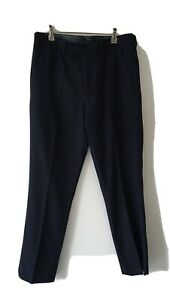 Ted Baker Size 32R Men's Dusky Blue Navy??  Pants
