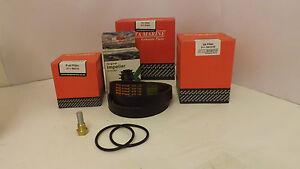Beta Marine 43,50 & 60 (Super 3 Series) Genuine Service Kit & Poly Vee Belt