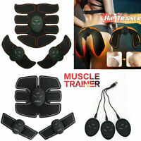 New Rechargeable ABS Simulator EMS Training Smart Hip Abdominal Muscle Exerciser
