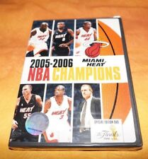 2005-2006 NBA CHAMPIONS MIAMI HEAT New Sealed DVD Shaquille O'Neal Dwyane Wade