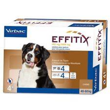 Effitix - pipetas antiparasitarias. Perros 40 - 60Kg. 4 UNIDADES.