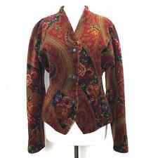 Stunning Vintage Windsmoor Velvet Tapestry Steampunk Victorian Edwardian Coat 8