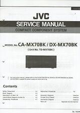 jvc ca mx44bk compact component system service manual