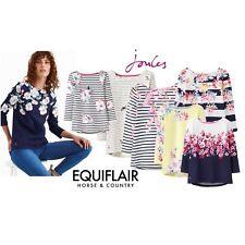 Joules Harbour Print Ladies Jersey 3/4 Sleeve Top Womens