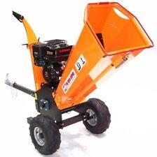 Benzin Häcksler Schredder 55754 Gartenhäcksler 120mm Holzhäcksler Motorhäcksler
