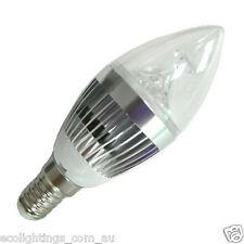 2 X LED 4W E14 Edison Light Bulb Globe Lamp Non Dimmable 240V Cool White