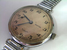 Molnija USSR  Vintage Men's Mechanical Military Big Watch 1-55