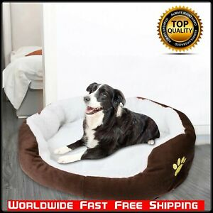 High Quality Washable Dog Bed Pet Plush Warm Soft Dog Sofa Portable Cat Supplies