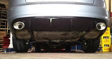 Für Audi A6 4F FL BJ. 08 - 11 RS6 Look Diffusor Standard Stoßstange