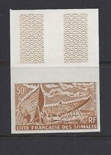Somali Coast 1964 Airmail C32 Imperf color trial Mnh