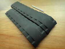 Tissot T-TOUCH BLACK SEA-TOUCH 22mm Rubber silicon Band strap bracelet T026.420