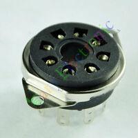 10pc 8pin Bakelite vacuum tube sockets octal for EL34 KT88 6550 6SN7 audio amps