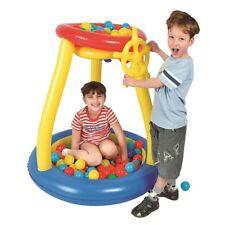 Pit Ball Pool Ø93x96cm Bällebad mit Spielbälle Planschbecken Kinderpool 25 Bälle
