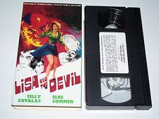 Lisa And The Devil Horror VHS '73 Elke Somer, Telly Savalas Collector's Edition
