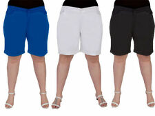 Plus Cotton Shorts for Women