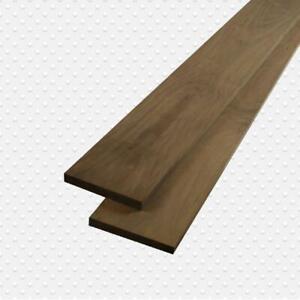 "Américain Bois Dur 4/4 "" Noir Noyer Lumbers, Paquet Mesure 100 Board Pieds"