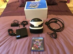 Sony PlayStation VR Headset Bundle Plus VR Worlds
