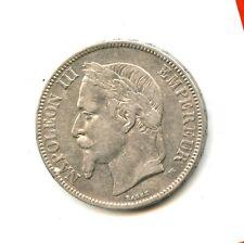 5 francs argent Napoléon III 1869 BB n°E1406