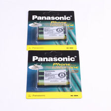 2pack HHR-P104 Ni-MH Rechargeable Battery 830mah For Panasonic Cordless Phones