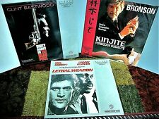 LASER disc MOVIES lot of 3 Excellent condition original sleeves low start bid!!