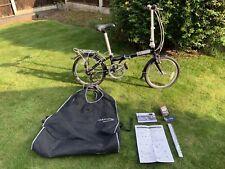 Dahon Speed D7 Folding Bike & Official Padded Carry Bag