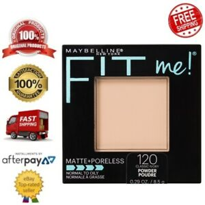 Maybelline Fit Me Matte & Poreless Pressed Long-Lasting Powder–classic Ivory 120