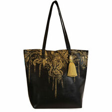 Papaya E0 Women's Art Travel 17x14.5in Bucket Tote Bag - Tree of Life