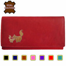 Leather Clutch Animal Purses & Wallets for Women