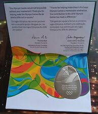 Rio 2016 Olympic Athlete Participation Medal With Certificate