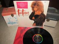 TINA TURNER Vinyl Lp BREAK EVERY RULE W/Inner 1986 Capitol Shrink & Stkr!