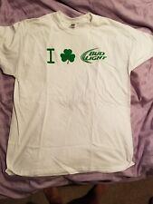 bud light St.Patrick's t-shirt