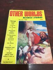 November 1955 Other Worlds Science Stories Pulp Science Fiction